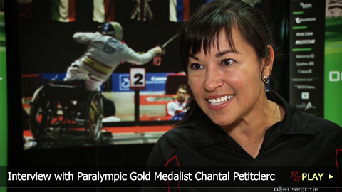 Interview with Paralympic Gold Medalist Chantal Petitclerc